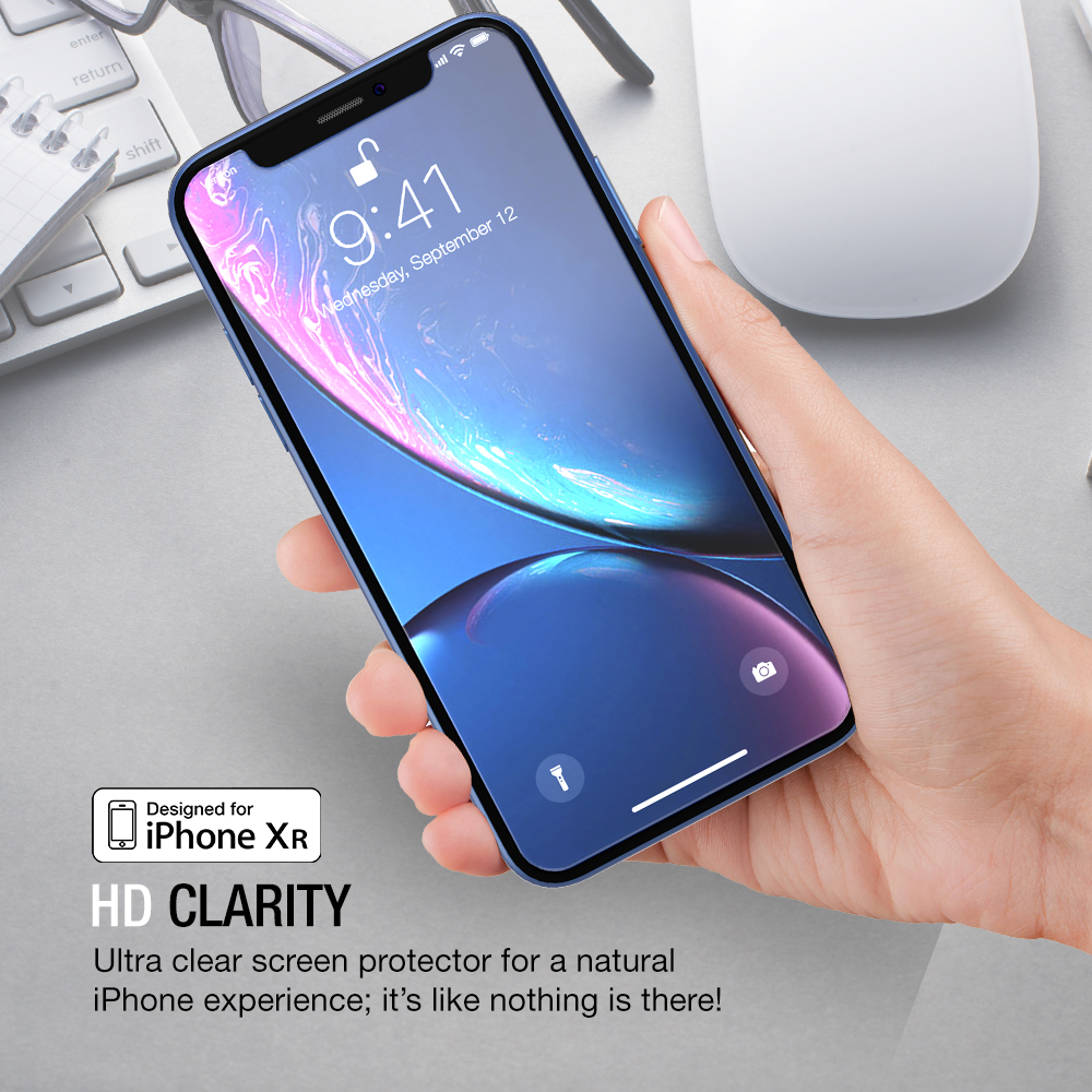 Suntaiho 5D Tempered Glass for iphone X XR XS Screen